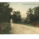 URBANA OH OHIO HAND COLORED POSTCARD J.A. BANTA