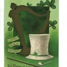 ST. PATRICK'S DAY COME TO ERIN TAGGART 1908  POSTCARD