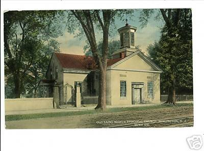 BURLINGTON NEW JERSEY NJ SAINT MARY'S EPISCOPAL CHURCH
