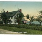 Grosse Pointe MI Lake Front Residence 1910 Postcard
