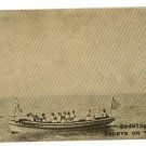 GENEVA ON THE LAKE  OHIO OH  REDWING BOAT POSTCARD
