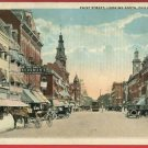 CHILLICOTHE OHIO OH PAINT ST BERGMAN'S CLOTHES POSTCARD