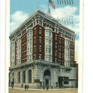 CLEARFIELD PENNSYLVANIA PA DIMELING HOTEL 1934 POSTCARD