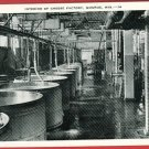 MONROE WI WISCONSIN CHEESE FACTORY INTERIOR   POSTCARD