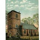 ISLE OF WIGHT VIRGINIA ST LUKE'S CHURCH  FENCE POSTCARD