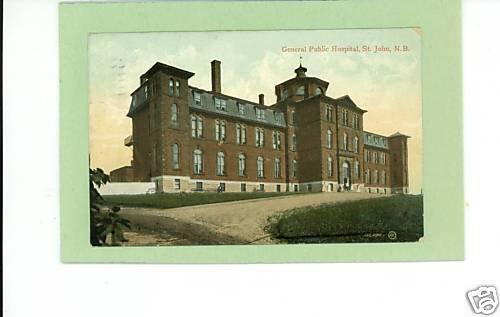 ST JOHN NEW BRUNSWICK CANADA GENERAL PUBLIC HOSPITAL