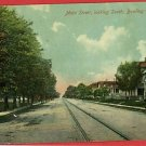 BOWLING GREEN OHIO MAIN STREET CAR LINE HALE  POSTCARD