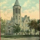 TIFFIN OHIO OH COLUMBIAN HIGH SCHOOL 1912 POSTCARD