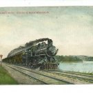 OVERLAND LIMITED CHICAGO NORTHWESTERN RAILROAD POSTCARD