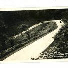 MACOMBER WEST VIRGINIA  RPPC  US 50 U CURVE CARS LAUREL