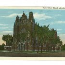 ABERDEEN SOUTH DAKOTA SD SACRED HEART CHURCH  POSTCARD