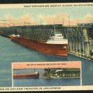 DULUTH MN MINNESOTA GREAT NORTHERN ORE DOCKS  POSTCARD