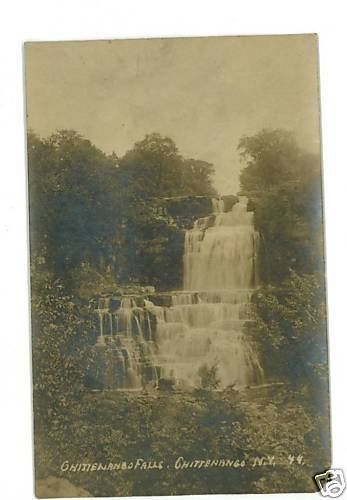 RPPC CHITTENANGO FALLS NEW YORK NY REAL PHOTO POSTCARD