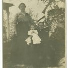 RPPC THREE GENERATIONS GRANDMOTHER MOTHER BABY POSTCARD