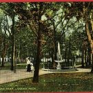 LANSING  MICHIGAN THIRD WARD PARK  POSTCARD