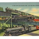 TWO OVER ONE RAILROAD RICHMOND VA VIRGINIA   POSTCARD