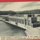 SAFE HARBOR PA HYDROELECTRIC PLANT  POSTCARD