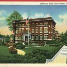 GALESBURG ILLINOIS IL CLUB CIVIC CAMERA SHOP   POSTCARD