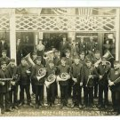 RPPC GIBSON CITY IL ILLINOIS GOODMAN'S BAND 4TH INF ING