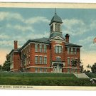 BARBERTON OHIO OH HIGH STREET SCHOOL  POSTCARD