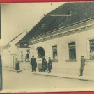 RPPC AUTO GARAGE S FEUSTER PEOPLE  RP POSTCARD