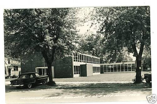 RPPC LAKE CITY MIGHIGAN  MISSAUKEE COUNTY BUILDING CAR