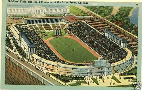 SOLDIER FIELD CHICAGO IL  FOOTBALL SOLDIERS' MUSEUM
