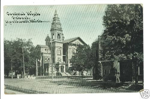 YPSILANTI MI MICHIGAN CENTRAL HIGH SCHOOL '10  POSTCARD