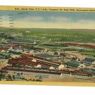 BIRMINGHAM FAIRFIELD ALABAMA TIN MILL TCI & RY Postcard