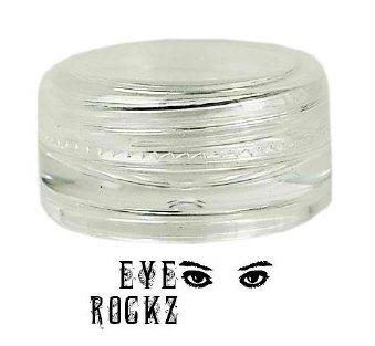 3 gram clear lid jar (double-walled)