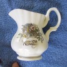 25th Anniversary Miniature Pitcher w/Imitation Pearl Attached - Roman Inc. Dated 1988