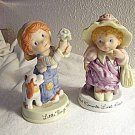 Avon Figurines Lot of 2 Cherished Moments & Little Things Dated 1983