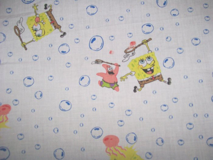 NIP SPONGE BOB SpongeBob Squarepants Fitted Toddler Bed or Crib Sheet NEW