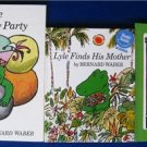 LOT 3 Books LYLE, the Crocodile  by BERNARD WABER Hardcovers Excellent
