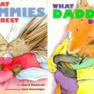 WHAT MOMMIES/DADDIES DO BEST by Laura Numeroff  Large