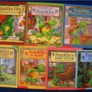 LOT 7 Books  FRANKLIN THE TURTLE by Paulette Bourgeois