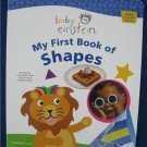 BABY EINSTEIN  MY FIRST BOOK OF SHAPES Large HC TODDLER