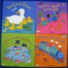 LOT 4 LARGE CLASSIC BOOKS WITH HOLES- Child's Play NEW