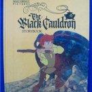 VINTAGE THE BLACK CAULDRON (1985)  Large Hardcover