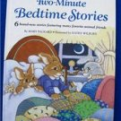TWO-MINUTE BEDTIME STORIES(1988) VINTAGE LARGE HC