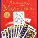 AMAZING MAGIC TRICKS Usborne book + STICKERS LARGE PB