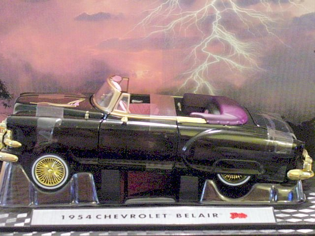1:24 Scale Diecast 1954 Chevy Bel Air Convertible