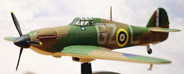 "Corgi ""Warbirds"" WW2 1:72 Hawker Hurricane MKI"