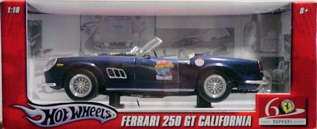 Hot Wheels 1:18 Scale Ferrari 250 GT California