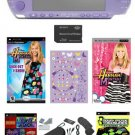 Sony PSP-3000 Limited Edition Hannah Montana Entertianment Bundle w/ Accessories + Over 21 Games.