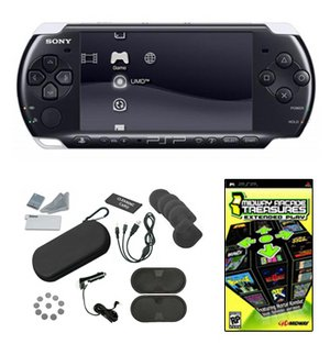 Sony PSP-3000 Core Bundle w/ 21 Games and 26 in 1 Accessory Kit