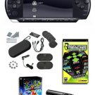 Sony PSP-3000 Core Bundle w/ 21+ Games, Camera, and Accessories