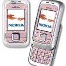 Nokia 6111 Pink Slider GSM Tri Band Cellular Mobile Phone (Unlocked)