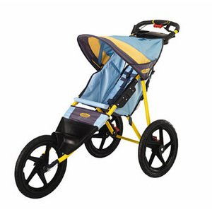 Instep 11-KS128 Run Around Jogging Baby Stroller - Teal/Dijon