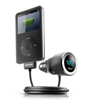 Philips DLA97878 FM Transmitter and Car Charger